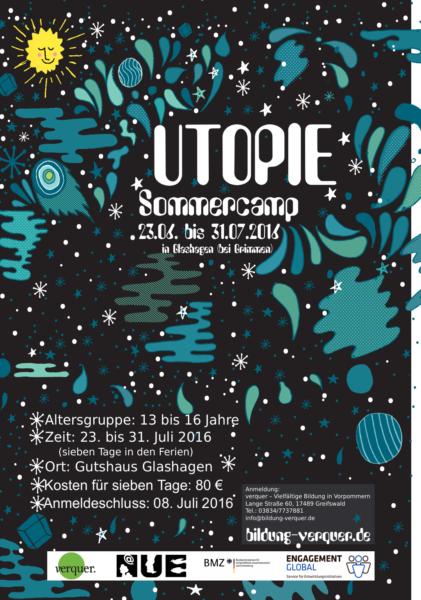 2016 Sommercamp Plakat