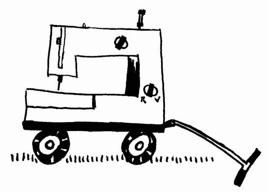 mobile Nähmaschine (c) Kabutze